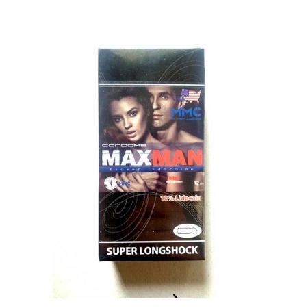 Giá bán 2 hộp bao cao su Maxman 5 trong 1 nhập khẩu