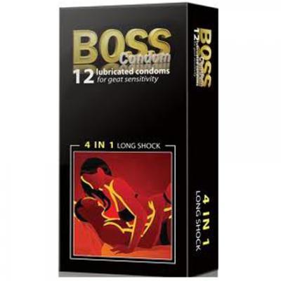 Giá bán 4 Hợp Bao cao su Boss 4 in 1 nhập khẩu
