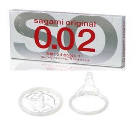 Giá bán 4 hộp BAO CAO SU SAGAMI ORIGINAL 0.02 nhập khẩu