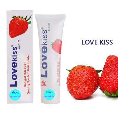 Giá bán Gel bôi trơn hương dâu cao cấp Love Kiss nhập khẩu