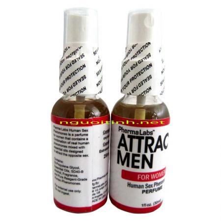 Giá bán Nước hoa kích dục nữ Attract Men nhập khẩu