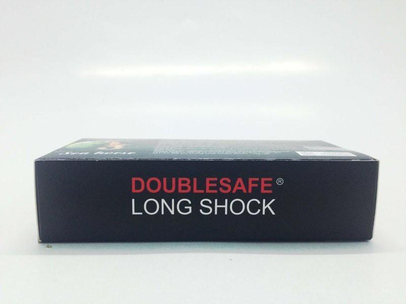 Bao Cao Su Cá Ngựa Double safe Longshock - Hộp 12 cái