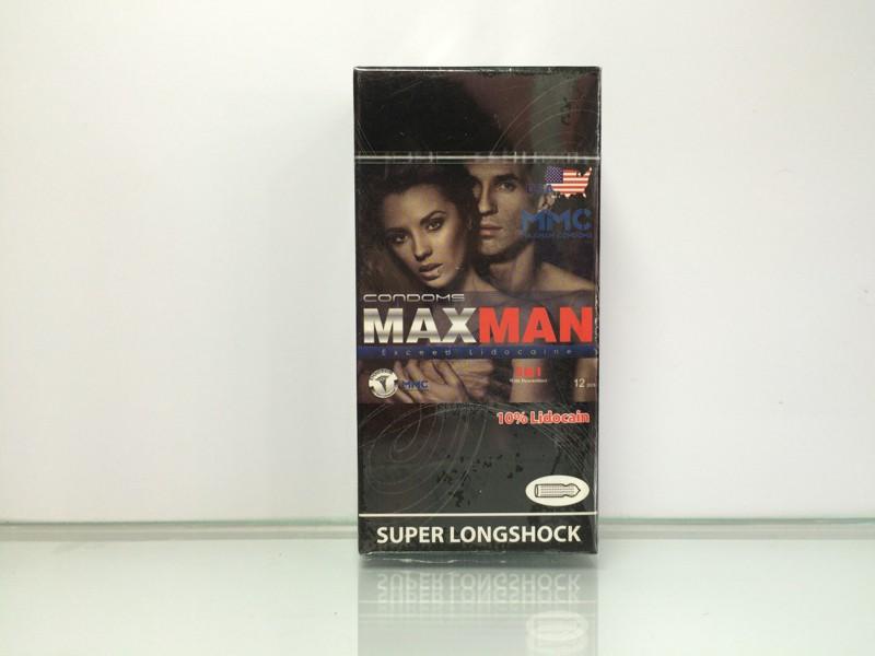 Combo 2 hộp bao Cao Su MaxMan 5 in 1 3