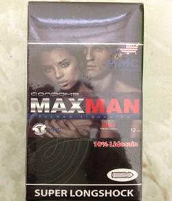 Combo 2 hộp bao Cao Su MaxMan 5 in 1 4